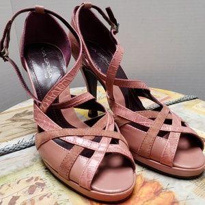 Via Spiga  Made in Italy  3 Tones  High Heel Shoes